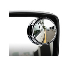 Car Vehicle Blind Spot Mirror Rear View Mirrors HD Convex Glass 360 Degree View Adjustable Mirror