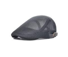 Mens Summer Beret Hat Visor Newsboy Cabbie Flat Cap