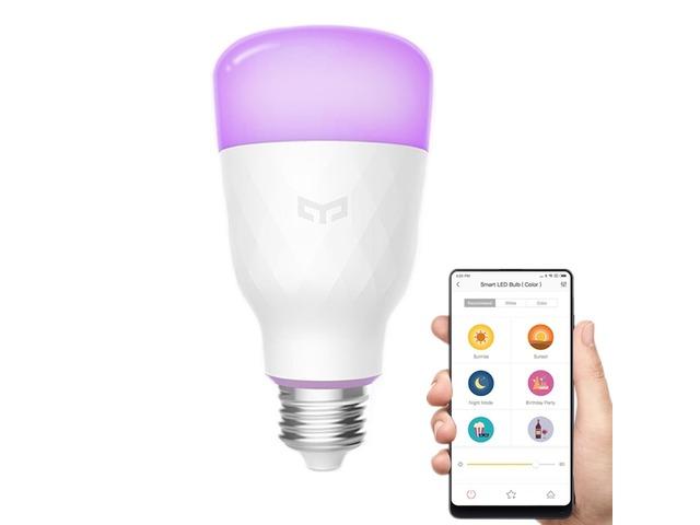 Xiaomi Yeelight YLDP06YL E27 10W RGBW Smart LED Bulb Wifi App Control AC100-240V | free-classifieds-usa.com