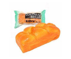 Kiibru Squishy Colossal Bread Super Slow Rising 20*8.5*9cm Creative Fun Christmas Gift | free-classifieds-usa.com