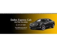 Dulles Airport Transportation Service Dulles Express Cab