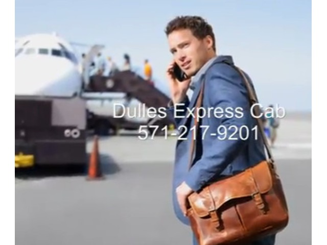 Leesburg Cab Dulles Express Cab 571-217-9201 | free-classifieds-usa.com