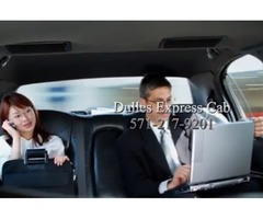 Dulles Airport Transportation Service Dulles Express Cab 571-217-9201