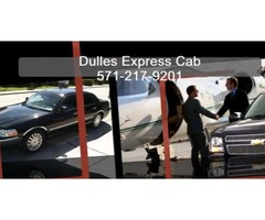 Loudoun Cab Service Dulles Express Cab 571-217-9201