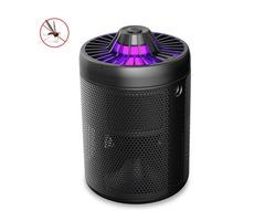 Loskii LM-707 USB Powered Smart LED UV Mosquito Killer Trap Lamp Flies Killer Mosquito Repellent Cat