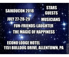 FEEL THE HAPPINESS AND WELCOME AT SAIKOUCON 2018