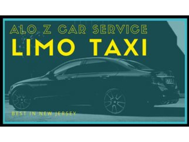 Arrival At Airport With Black Car Service-7327422252 - Limo