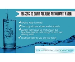 Anti-Oxidants Alkaline Water is enriched with Essential Minerals