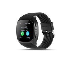 T8 Smart Watch with SIM Slot/HD Camera for Apple Android Phones