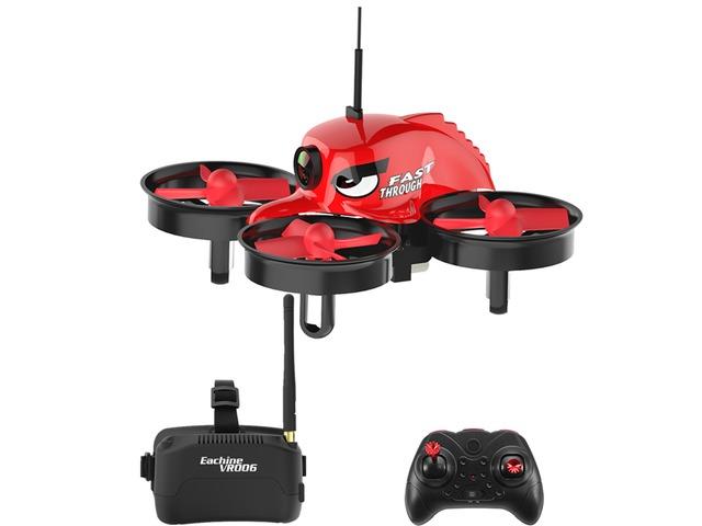 Eachine E013 Micro FPV RC Drone Quadcopter With 5.8G 1000TVL 40CH Camera VR006 VR-006 3 Inch Goggles | free-classifieds-usa.com