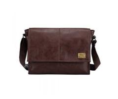 Reduced 45% - Men's 14 Inch Laptop Leather Bag