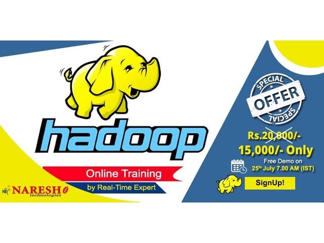 Hadoop Online Training - NareshIT  | free-classifieds-usa.com
