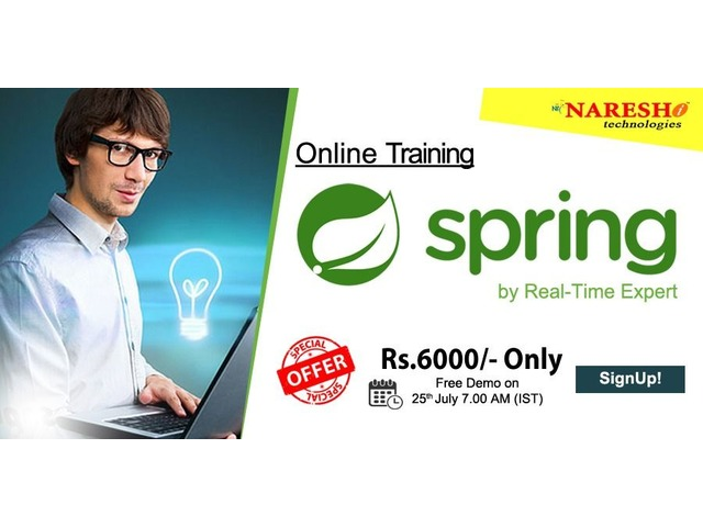 Spring Online Training - NareshIT  | free-classifieds-usa.com