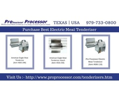 Shop electric meat tenderizer machines - ProProcessor