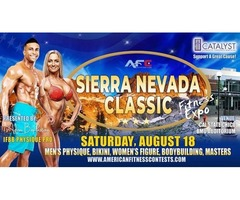 Sierra Nevada Classic will bring you new opportunities! Men's Physique Classic Competition