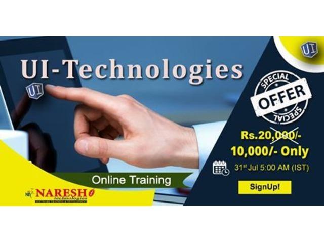 UI Technologies Online Training - NareshIT  | free-classifieds-usa.com