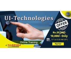 UI Technologies Online Training - NareshIT