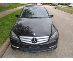 2011 Mercedes C-300 (Black) for sale.