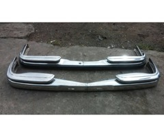 Mercedes Benz W108 stainless steel bumpers