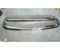 Mercedes Benz W115 stainless steel bumpers