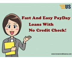 Online payday loans no credit check | Instant credit loans US