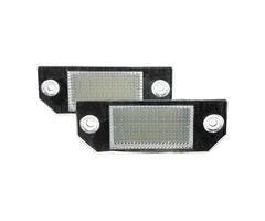 2x 24LEDs License Number Plate Light Lamps for Ford Focus C-MAX 03-07