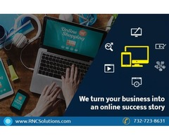 How to build a strong online marketing website design NJ?