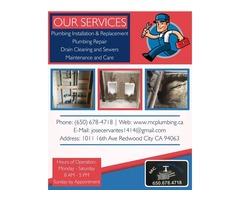 Indoor and Outdoor Leak Repair Redwood City, CA | MC Plumbing