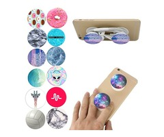 Cheap Pop Sockets: Collapsible Grip & Stand for Apple Phones Samsung Xiaomi Android and Tablets