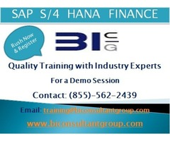 S/4 HANA Simple Finance Online Training