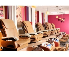 Save $10 on Orange Blossom Pedicure with a Basic Manicure at New Nail Time Salon