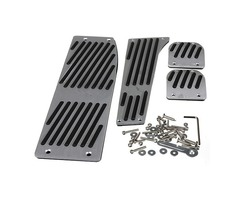 M Pedal Pad Set Footrest For BMW X1 E30 E36 E46 E87 E90 E91 E92 E93