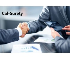 Cal-Surety bond service provide