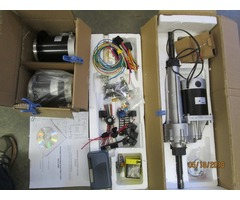 Electric riding mower conversion kits