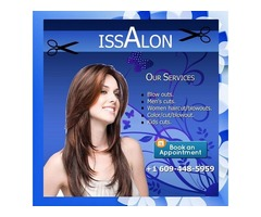 Special offer for Men Haircut by Issalon