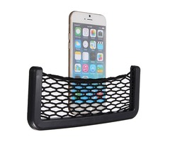 Car Elastic String Bag Auto Vehical Storage Mesh Pouch For Phone