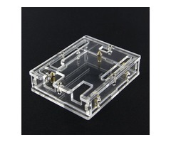 Transparent Acrylic Case Shell For Arduino UNO R3 Module Case