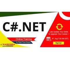 C#.Net Online Training - NareshIT