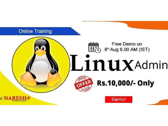 Linux Unix Online Training - NareshIT  | free-classifieds-usa.com