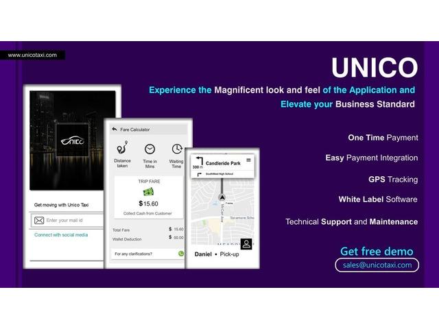 Cab Dispatch Software - unicotaxi | free-classifieds-usa.com
