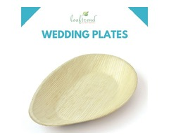 Eco-friendly Palm Leaf Plates and Bowls
