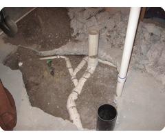 basement plumbing