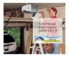 Overhead door repair palm city fl