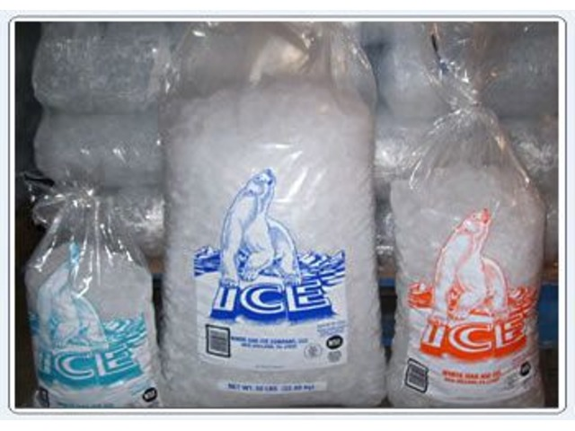 Bag Of Ice Cost Delivery Courier Services Olmsted