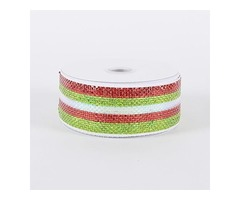 Are you looking for widest collection of mesh ribbons?