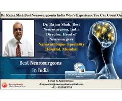 Consult Dr Rajan Shah  Best Neurosurgeon Bombay Hospital Mumbai