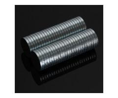 50pcs N52 Round Disc Magnets 8mmx1mm Rare Earth Neodymium Magnets