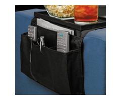 6 Pockets Sofa Handrail Couch Arm Rest Arm Rest Organizer Remote Control Holder Bag