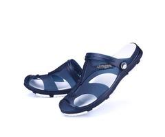 PVC See-Through Plain Closed Toe Sandals for Men | free-classifieds-usa.com