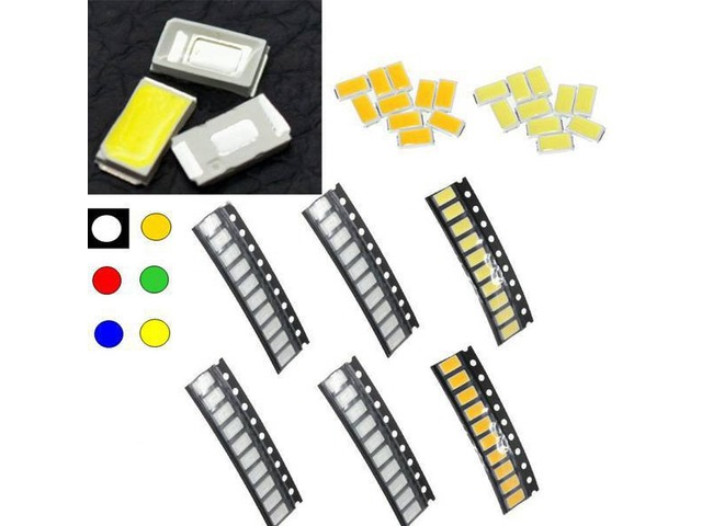 10 pcs 5630 Colorful SMD SMT LED Light Lamp Beads For Strip Lights | free-classifieds-usa.com